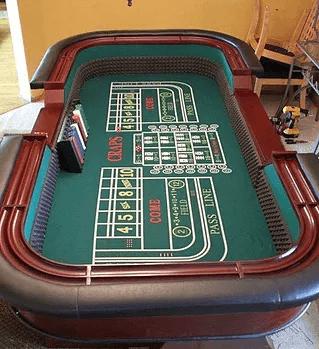 Table de jeux de casino Craps
