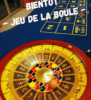 Jeux de casino : Jeu de la boule