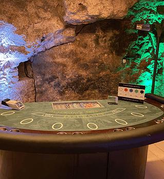 Table de jeux de casino