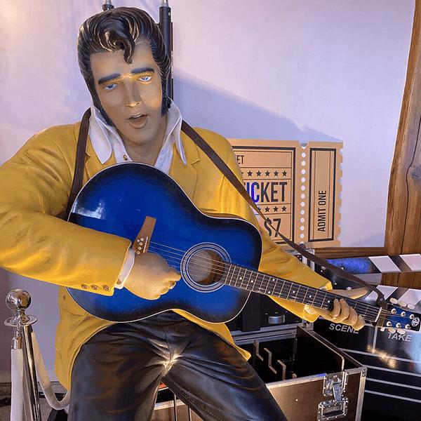 Elément de décoration : Elvis Presley