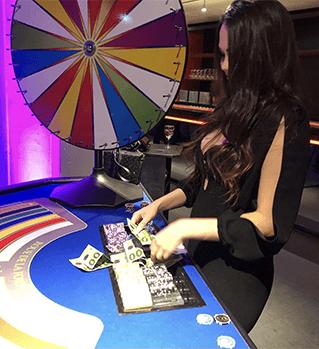 Jeux de casino de la roulette de la chance